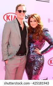 LAS VEGAS - MAY 22:  Ryan Trainor, Meghan Trainor at the Billboard Music Awards 2016 at the T-Mobile Arena on May 22, 2016 in Las Vegas, NV
