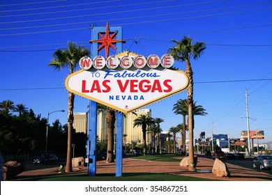 LAS VEGAS, NEVADA - 31 Oct 2014, Welcome to Never Sleep city Las Vegas,American,America