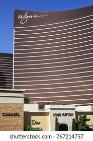 LAS VEGAS, NEVADA - MAY 16, 2012: Upscale stores located at the Wynn and Encore Resorts.