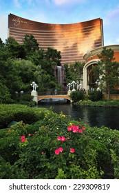 LAS VEGAS, NEVADA, - MAY 23. 2008: The Wynn Hotel and casino in Las Vegas.
