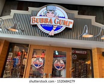 Las Vegas, Nevada, September 27, 2019: Bubba Gump Shrimp Restaurant