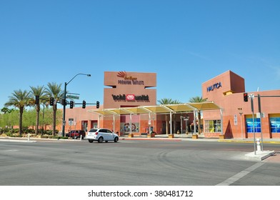 LAS VEGAS, NEVADA, USA - APRIL 16, 2014 : Las Vegas Premium Outlets North is a 540,000-square-foot shopping mall located near Downtown Las Vegas located on 40 acres.