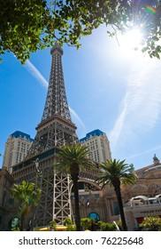 LAS VEGAS, NEVADA, USA - CIRCA APRIL 2011: Paris Las Vegas hotel and casino