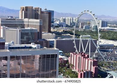 Las Vegas, Nevada - USA - June 05,2017 - Big Wheel Las Vegas