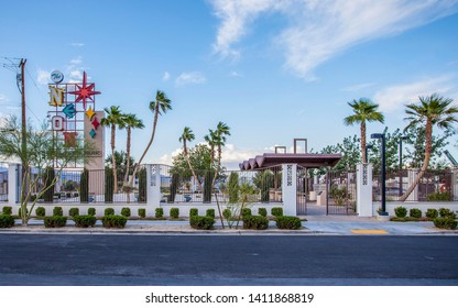 Las Vegas, Nevada / USA- May 8, 2013- Photo of the Neon Graveyard