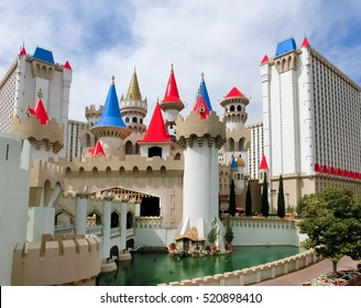 Las Vegas, Nevada, USA - May 05, 2016: Excalibur Hotel and Casin