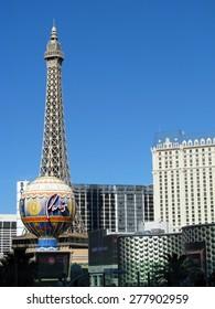 LAS VEGAS, NEVADA, USA  - NOVEMBER 11: Paris Las Vegas Hotel Casino 2012
