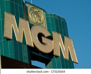 Las Vegas, Nevada-October 28, 2011: The MGM Grand hotel in Las Vegas, Nevada.