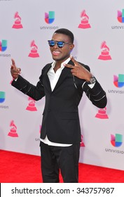 LAS VEGAS , NOV 19 : Singer OMI attends the 16th Annual Latin GRAMMY Awards on November 19 2015 at the MGM Grand Arena in Las Vegas, Nevada