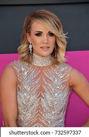 LAS VEGAS, NV - April 02, 2017: Carrie Underwood at the Academy of Country Music Awards 2017 at the T-Mobile Arena, Las Vegas