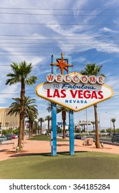LAS VEGAS, NV - AUGUST 12: Welcome to Las Vegas sign on August 12, 2015 in Las Vegas, USA. Las Vegas is one of the top tourist destinations in the world.