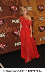 LAS VEGAS, NV - DECEMBER 6, 2010: Carrie Underwood at the 2010 American Country Awards at the MGM Grand Garden Arena, Las Vegas..