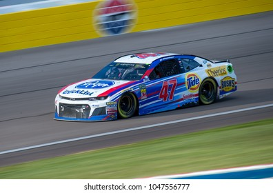 LAS VEGAS, NV - MAR 04:  AJ Allmendinger at the NASCAR Monster Energy Cup Series Pennzoil 400 race at Las Vegas Motorspeedway in Las Vegas on March 04, 2018