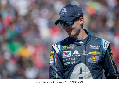 LAS VEGAS, NV - MAR 04:  William Byron at the NASCAR Monster Energy Cup Series Pennzoil 400 race at Las Vegas Motorspeedway in Las Vegas on March 04, 2018