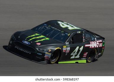 LAS VEGAS, NV - MAR 10: Kurt Busch at the NASCAR Monster Energy Cup Series Kobalt 400 race at Las Vegas Motorspeedway in Las Vegas on March 10th, 2017