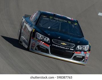 LAS VEGAS, NV - MAR 10: Jeffrey Earnhardt at the NASCAR Monster Energy Cup Series Kobalt 400 race at Las Vegas Motorspeedway in Las Vegas on March 10th, 2017