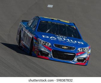 LAS VEGAS, NV - MAR 10: Timmy Hill at the NASCAR Monster Energy Cup Series Kobalt 400 race at Las Vegas Motorspeedway in Las Vegas on March 10th, 2017