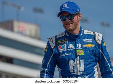 LAS VEGAS, NV - MAR 12: Dale Earnhardt Jr at the NASCAR Monster Energy Cup Series Kobalt 400 race at Las Vegas Motorspeedway in Las Vegas on March 12th, 2017