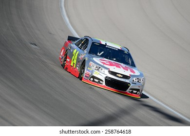 LAS VEGAS, NV - March 07: NASCAR Sprint Kobalt 400 practice at Las Vegas Motor Speedway in Las Vegas on March 07, 2015