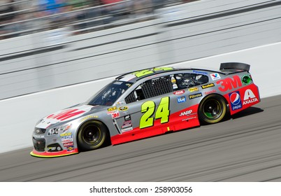 LAS VEGAS, NV - March 08: Jeff Gordon at the NASCAR Sprint Kobalt 400 race at Las Vegas Motor Speedway on March 08, 2015