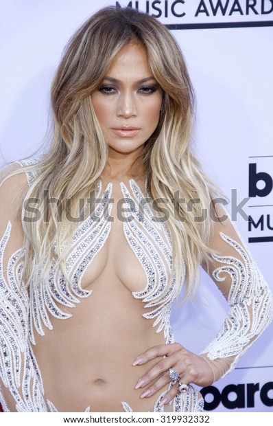 LAS VEGAS, NV - MAY 17: 2015: Jennifer Lopez at the 2015 Billboard Music Awards held at the MGM Garden Arena in Las Vegas, USA on May 17, 2015.