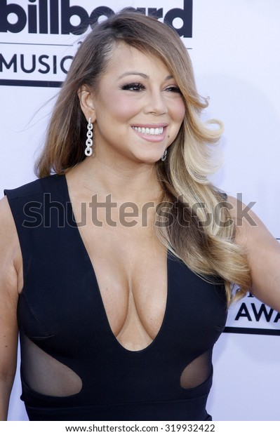 LAS VEGAS, NV - MAY 17: 2015: Mariah Carey at the 2015 Billboard Music Awards held at the MGM Garden Arena in Las Vegas, USA on May 17, 2015.