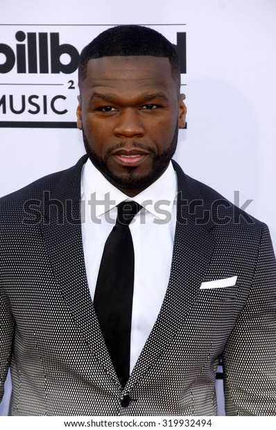 LAS VEGAS, NV - MAY 17: 2015: 50 Cent at the 2015 Billboard Music Awards held at the MGM Garden Arena in Las Vegas, USA on May 17, 2015.