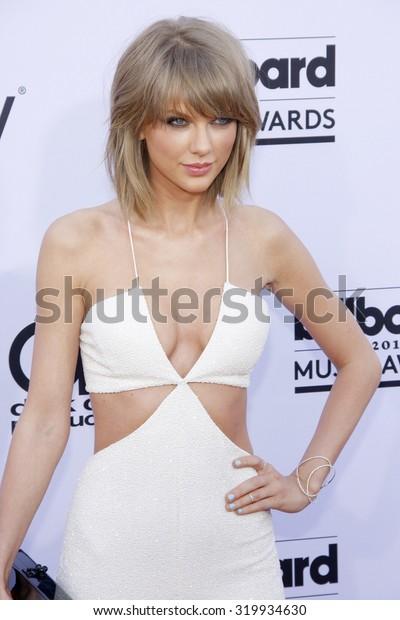 LAS VEGAS, NV - MAY 17: 2015: Taylor Swift at the 2015 Billboard Music Awards held at the MGM Garden Arena in Las Vegas, USA on May 17, 2015.