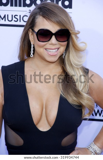LAS VEGAS, NV - MAY 17: 2015: Mariah Carey at the 2015 Billboard Music Awards held at the MGM Garden Arena in Las Vegas, USA on May 17, 2015.
