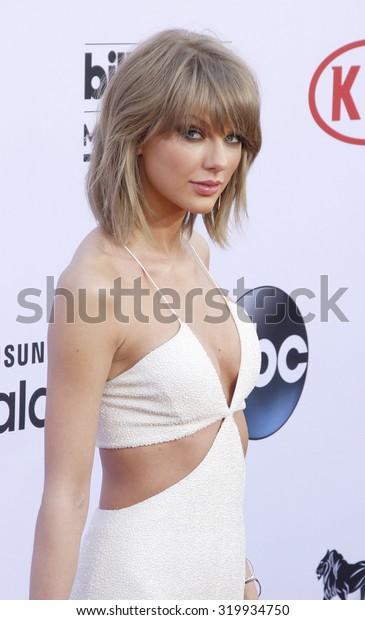 LAS VEGAS, NV - MAY 17: 2015: Taylor Swift at the 2015 Billboard Music Awards held at the MGM Garden Arena in Las Vegas, USA on May 17, 2015.