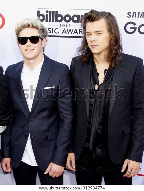 LAS VEGAS, NV - MAY 17: 2015: One Direction at the 2015 Billboard Music Awards held at the MGM Garden Arena in Las Vegas, USA on May 17, 2015.