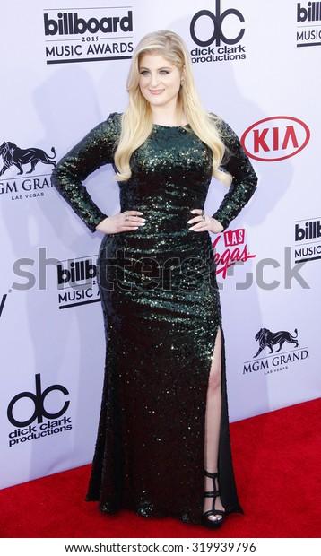 LAS VEGAS, NV - MAY 17: 2015: Meghan Trainor at the 2015 Billboard Music Awards held at the MGM Garden Arena in Las Vegas, USA on May 17, 2015.