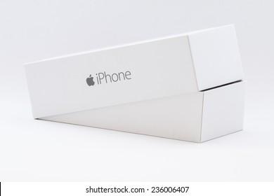 Las Vegas, NV, USA - October 13, 2014: iPhone 6 Box
