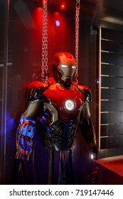 LAS VEGAS, NV, USA - SEP 20, 2017: Tony Stark base at the Avengers experience in Las Vegas.