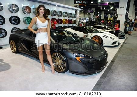LAS VEGAS NVUSA SEMA Stock Photo Edit Now - Car show vegas