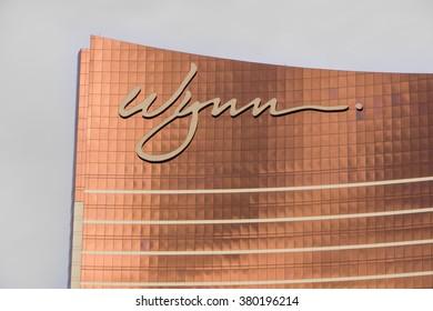 LAS VEGAS, NV/USA - FEBRUARY 14, 2016: Encore at Wynn Las Vegas luxury resort and casino located on the Las Vegas Strip. The Encore  is the flagship property of Wynn Resorts Limited.