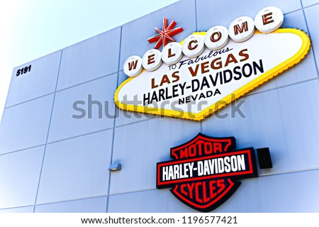 Las Vegas Nvusa Sep 152018 Welcome Stock Photo Edit Now 1196577421