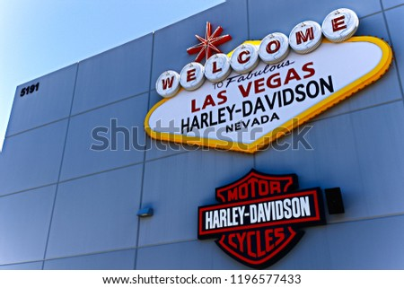 Las Vegas Nvusa Sep 152018 Welcome Stock Photo Edit Now 1196577433