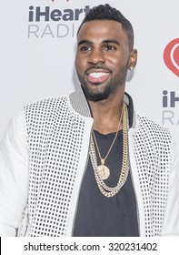 LAS VEGAS - SEP 18 : Singer Jason Derulo attends the 2015 iHeartRadio Music Festival at the MGM Grand Garden Arena on September 18, 2015 in Las Vegas.