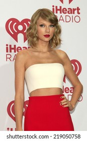 LAS VEGAS - SEP 19:  Taylor Swift at the iHeart Radio Music Festival Night 1 at MGM Grand Resort and Casino on September 19, 2014 in Las Vegas, NV