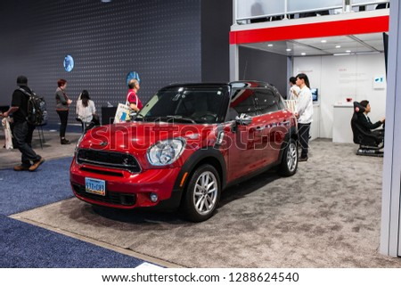 Mini Cooper Las Vegas >> Las Vegas Usa January 811 2019 Royalty Free Stock Image