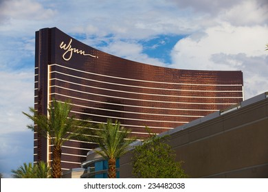 Las Vegas, USA - JULY 11 ,2011: Wynn Las Vegas is a luxury resort and casino on the Las Vegas Strip in Paradise.The resort covers 215 acres