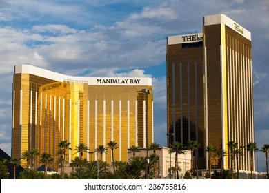 Las Vegas, USA - JULY 7 ,2011:Mandalay Bay in Las Vegas. Mandalay Bay Resort and Casino in Las Vegas offers unmatched luxury, fine dining, renowned entertainment, personal service...