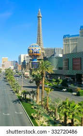 LAS VEGAS, USA - MARCH 19: View of Las Vegas boulevard on March 19, 2013 in Las Vegas, USA. Las Vegas is one of the top tourist destinations in the world.