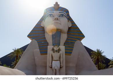LAS VEGAS, USA - MAY 6, 2012: Las Vegas Luxor Hotel,  North America