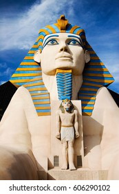 Las Vegas, USA,  October 28, 2006. Luxor Hotel with it Giant Statue