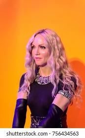LAS VEGAS, USA - SEP 19, 2017: Madonna, Madame Tussauds wax museum in Las Vegas Nevada.