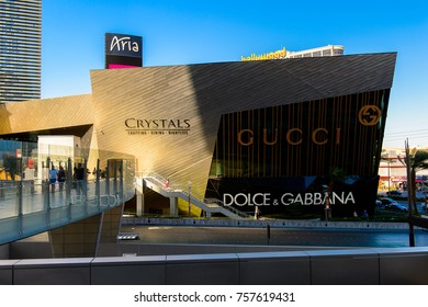 LAS VEGAS, USA - SEP 21, 2017: Aria, a luxury resort and casino, Las Vegas Strip in Paradise, Nevada