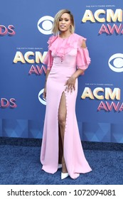 LAS VEGAS-APR 15: Singer Eve attends the 53rd Annual Academy of Country Music Awards on April 15, 2018 at the MGM Grand Arena in Las Vegas, Nevada.