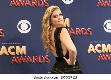 LAS VEGAS-APR 15: Singer Lauren Alaina attends the press room during the 53rd Annual Academy of Country Music Awards on April 15, 2018 at the MGM Grand Arena in Las Vegas, Nevada.